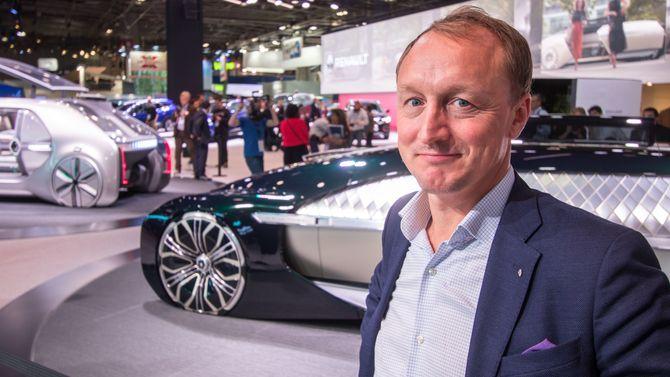 Nils-Henrik Holmen, administrerende direktør i Renault Norge.