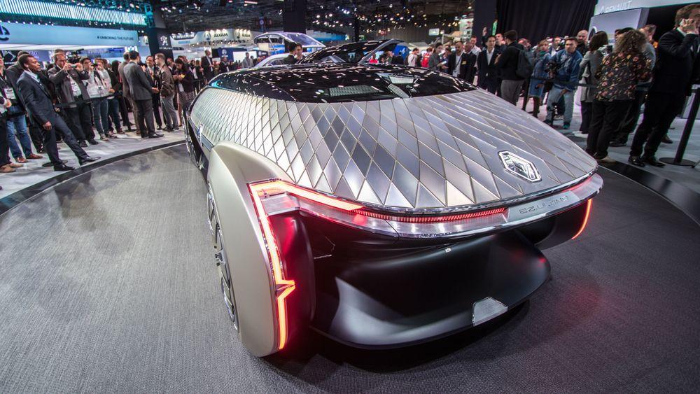Renault EZ-Ultimo er et konsept som ser for seg hvordan en selvkjørende luksusbil kan være.