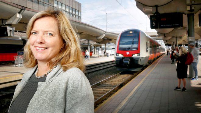 Jernbanedirektør Kirsti Slotsvik: - Jeg vil bevise at tog fortsatt er ryggraden i transportsektoren