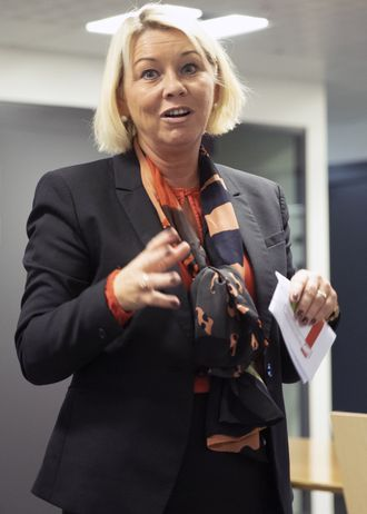 Monica Mæland. Foto.