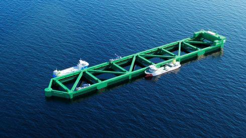 Nordlaks' brønnbåt skal kunne frakte 600 tonn levende laks fra Havfarmen.