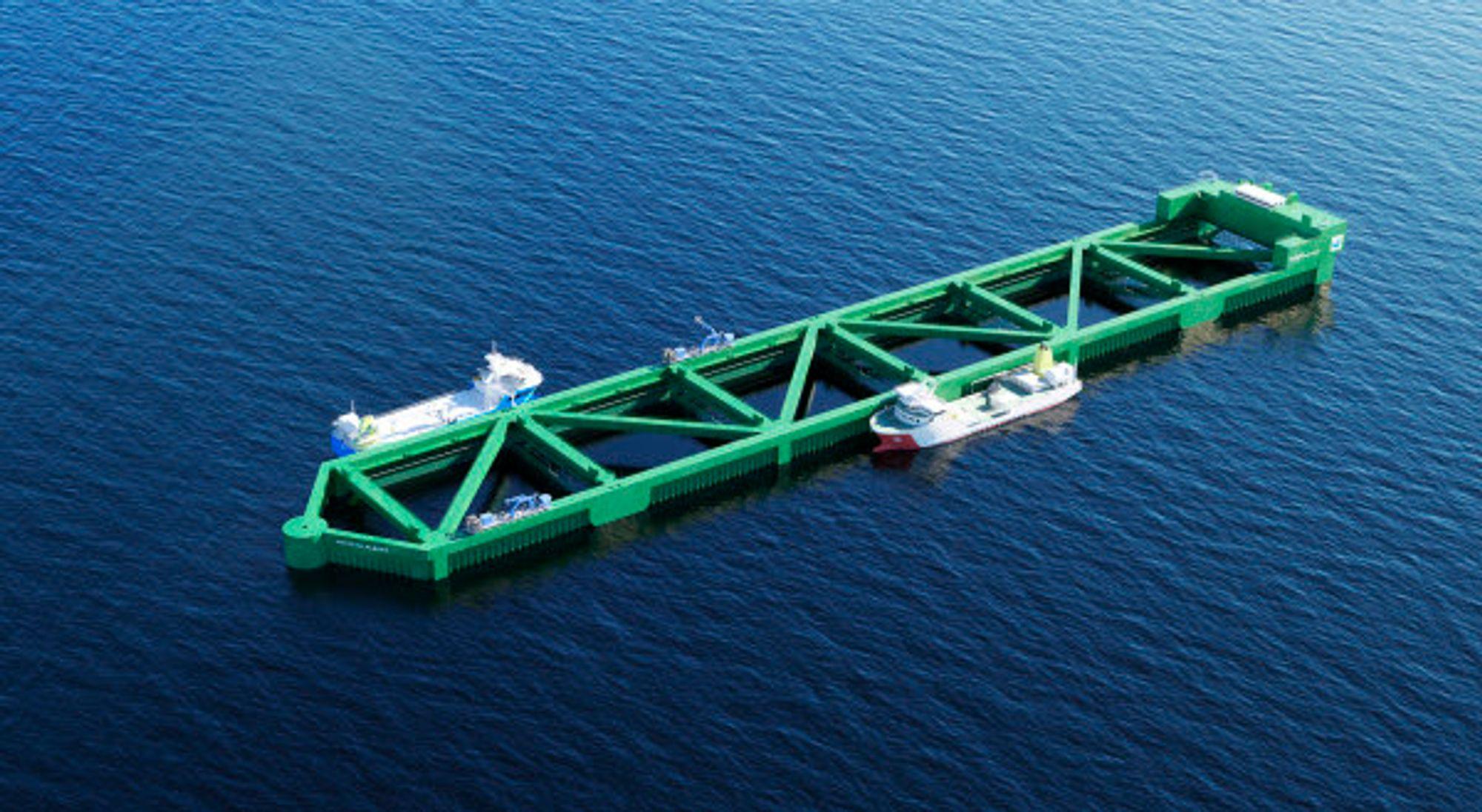 Nordlaks investerer ca. 1 milliard kroner i oppdrettsanlegg offshore. Ringvirkningene er på 2-3 milliarder kroner  i tillegg, mener Norsk Industri. Blant annet til ny LNG-hybrid brønnbåt som skal kunne frakte 600 tonn levende laks fra Havfarmen.