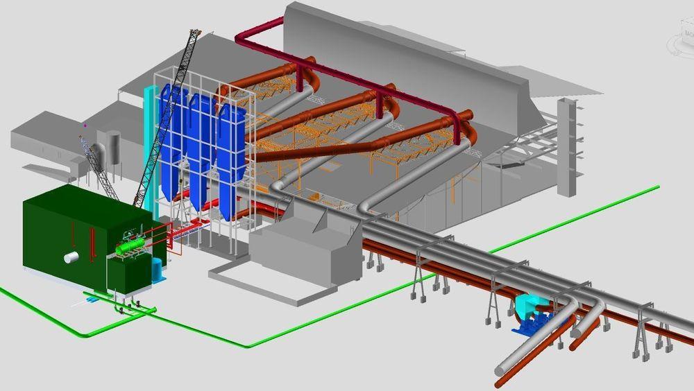 Et energigjenvinningsanlegg basert på spillvarme fra silisiumproduksjonen, skal produsere 270 GWh i året på Elkem Salten i Nordland.