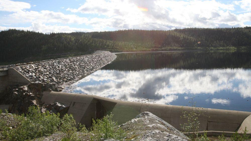 Vannmagasinene er i ferd med å fylles opp etter mye regn i august og september, som her i Dokkfløyvannet i Oppland.