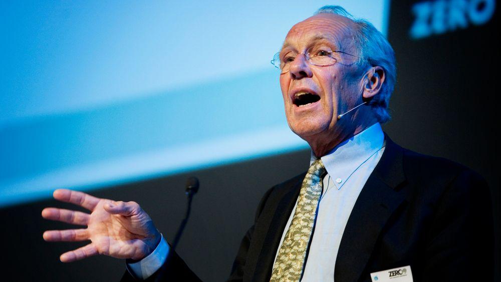 Valhall-feltet i Nordsjøen. BI-professor Jørgen Randers mener norsk oljeproduksjon må avvikles innen 2040.