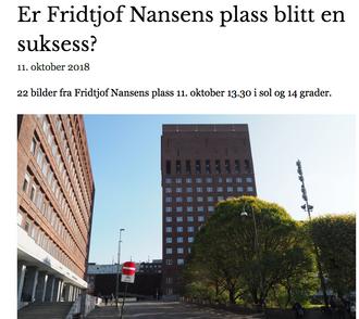 Faksimile fra «Nyhetsavisen Ja til bilen i Oslo»