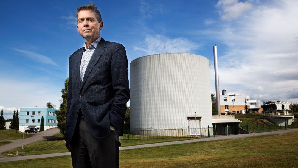 Kjell Bendiksen har fortsatt et par arbeidsdager i uka ved IFE på Kjeller.