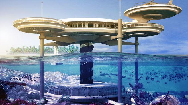 Her skal hotellgjestene senkes ned i havdypet