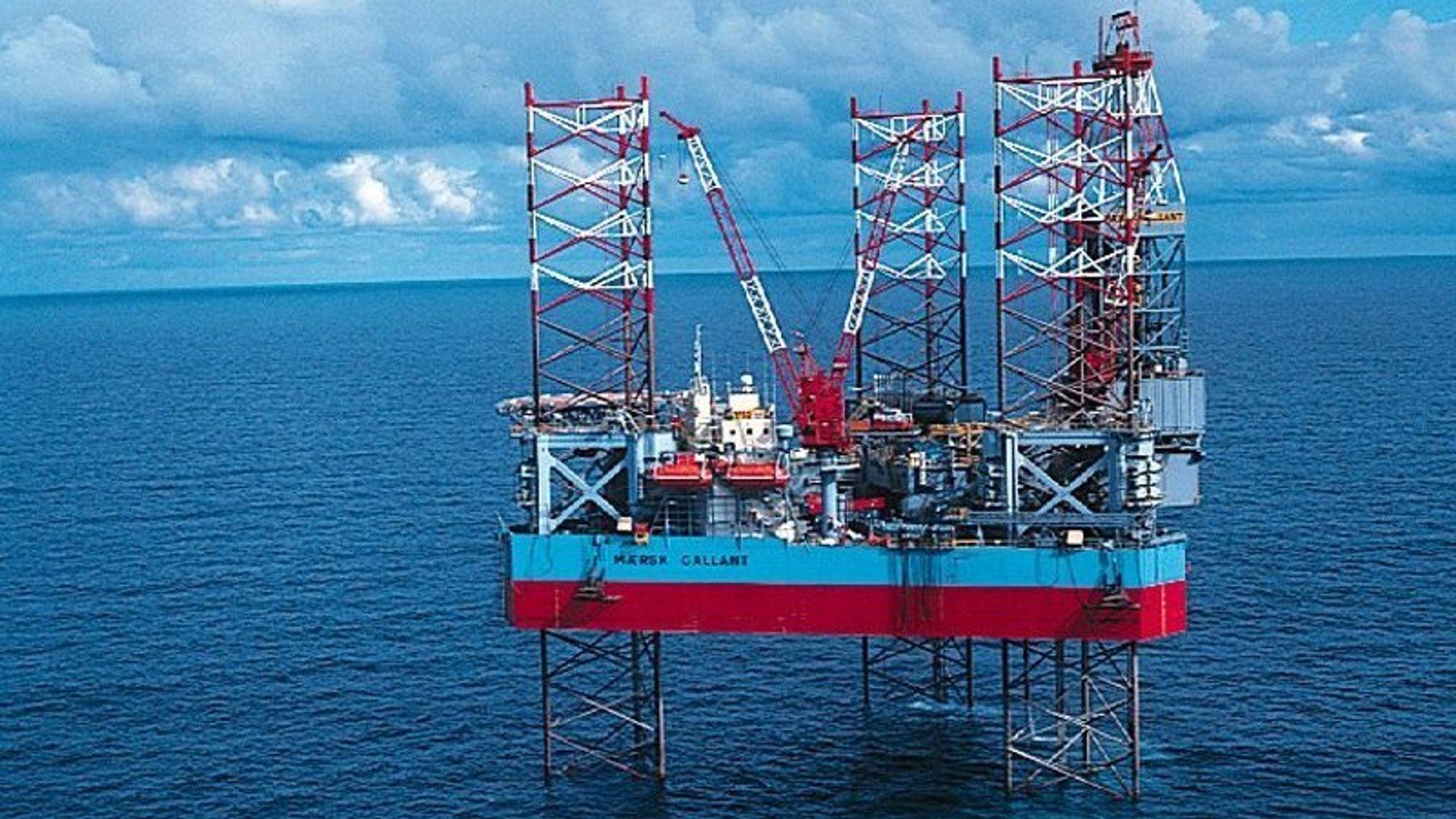 I 2012 gjorde den oppjekkbare riggen Maersk Gallant store funn av olje og gass for Statoil på King Lear-feltet. Nå mener de Aker BP ser større muligheter enn dem selv for fortsatt utvinning.