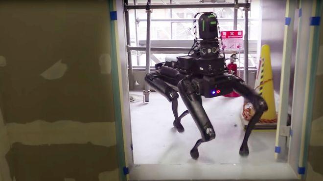 Robothunden skal få seg jobb i byggebransjen