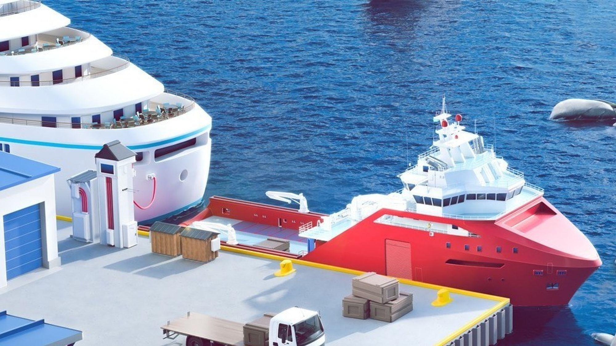 Utslippsfri maritim transport er et av temaene i årets Pilot E-utlysning.