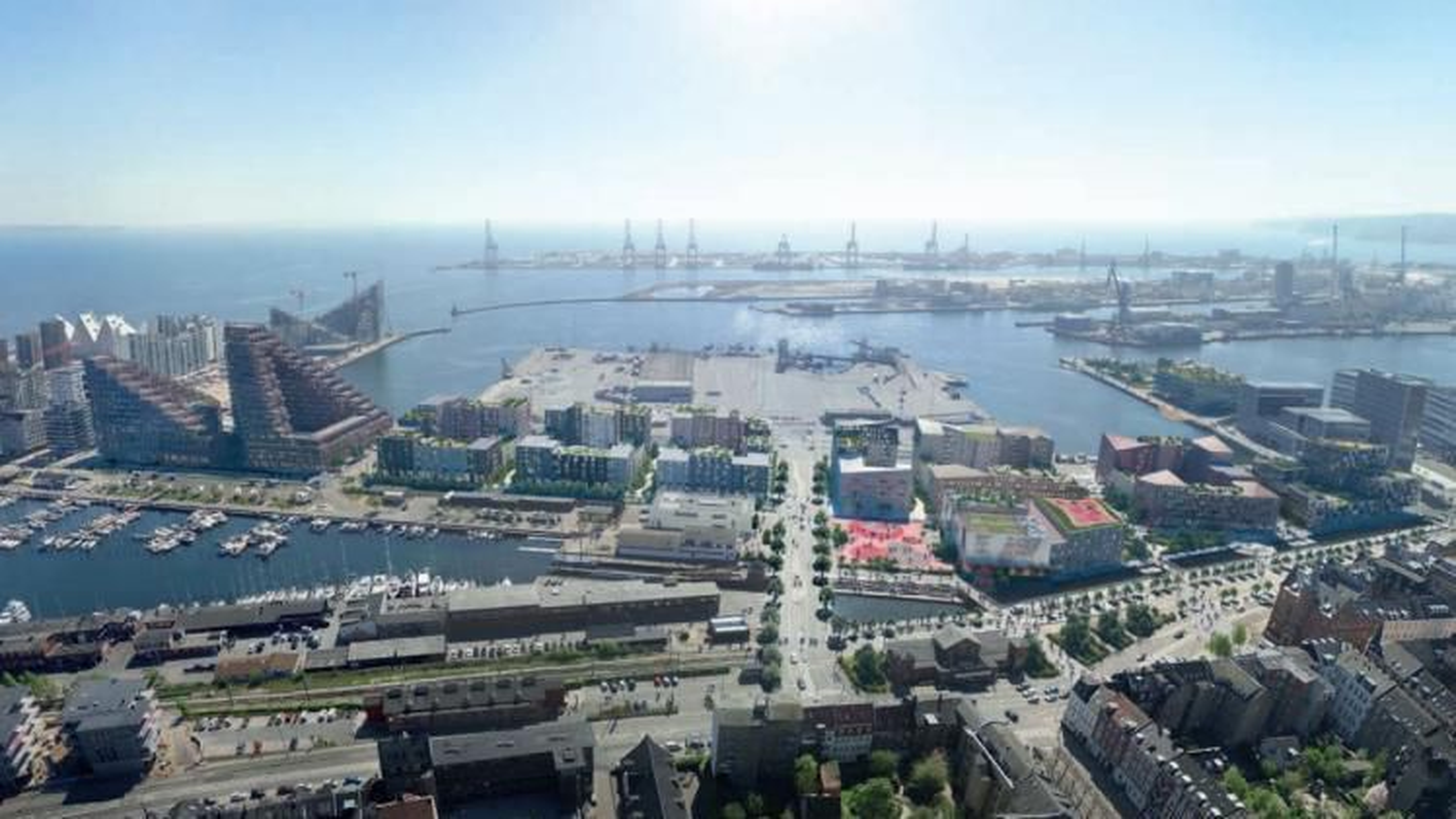 Aarhus er blant kommunene som mener planloven hindret byutviklingen, og nå vil Folketinget trolig tillate boliger hvor vinduene ikke kan åpnes, i områder der grensene for støy og forurensing er overskredet.