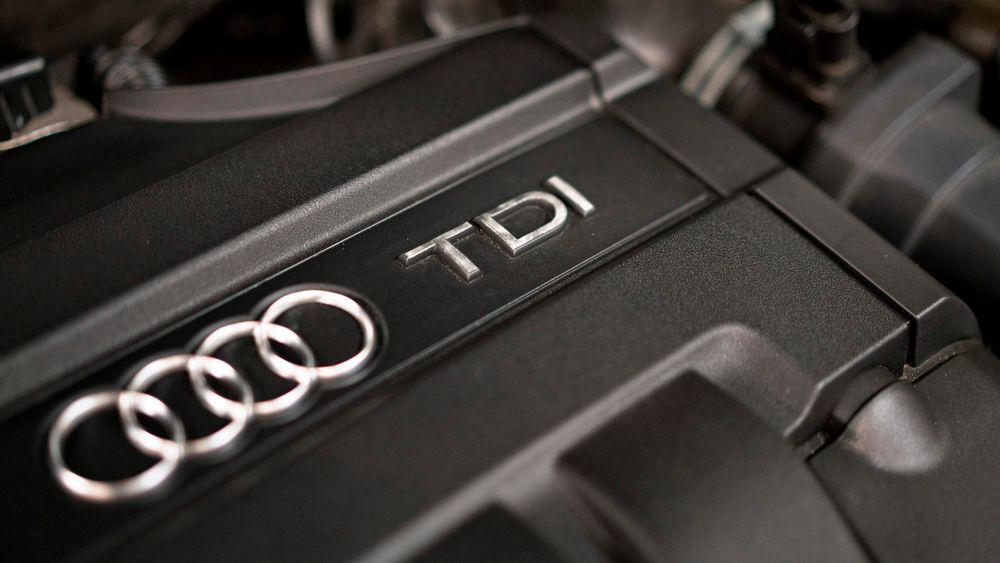 Audi må betale nesten åtte milliarder i bot for å ha jukset med utslippene fra sine biler.