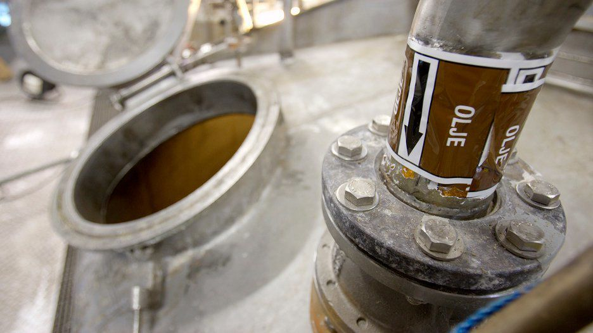BV Energis biodieselfabrikk på Hurum.