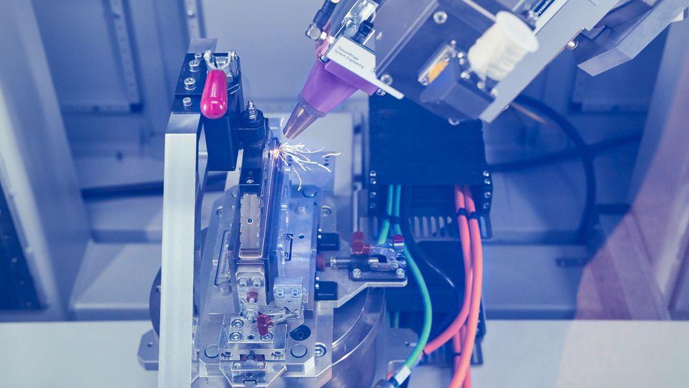 Produksjon av celleprototyper hos BMW.