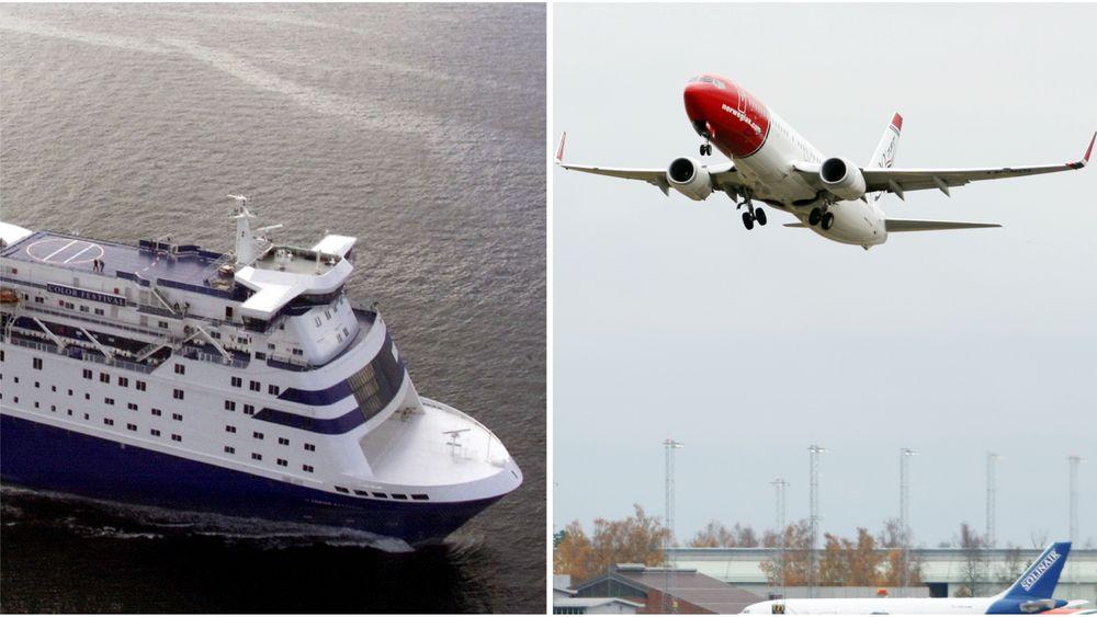 Både luftfart og skipsfart kan tjene store beløp på mer nøyaktig informasjon om vind og temperatur.