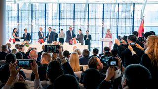 Signeringsfest i Kina: Her er 11 kontrakter norske bedrifter har landet