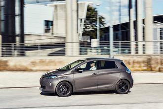 Renault Zoe har ikke endret utseende siden den var ny.