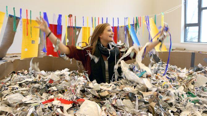 Caroline Michelsen var en av studentene som har jobbet med festivalen.