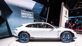 Mission E Cross Turismo er en blanding av SUV, stasjonsvogn og kupé.