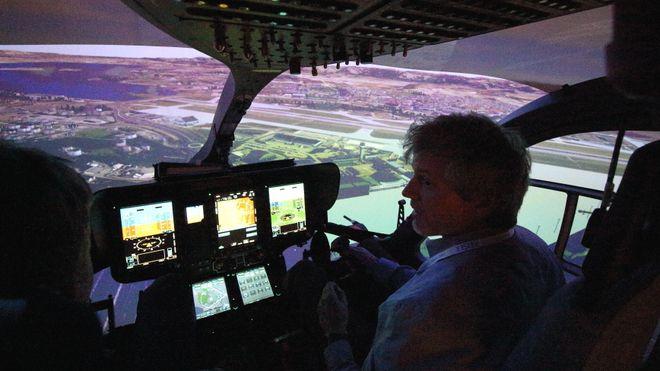 Luftambulansens nye simulator viser alle kjente lufthindringer i 3D