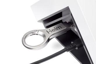USB-pinnen med nøkkelen som kreves for å dekryptere sikkerhetskopiene.