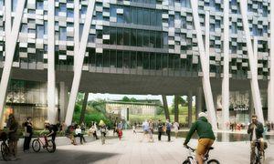 Et bygg som kan brukes til forskning og utvikling