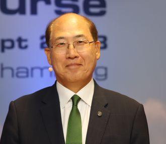 Generalsekretær Kitack Lim i IMO.