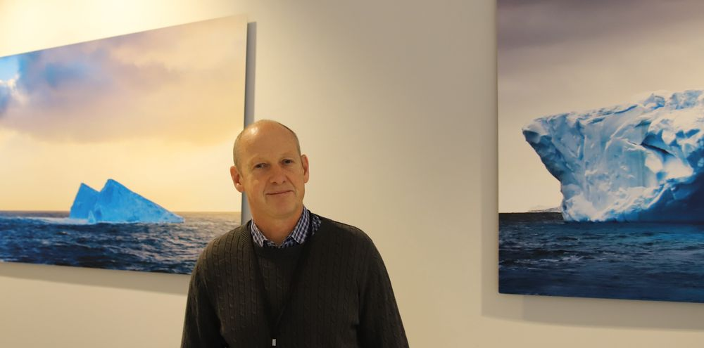 Sveinung Oftedal, fagdirektør i Klima- og miljødepartementet, møter i IMO for Norge.