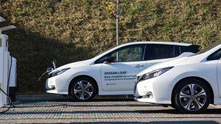Nå er Nissan Leaf et mobilt kraftverk.