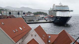 Bergen bremser cruisetrafikken - vil ha maks tre skip i døgnet