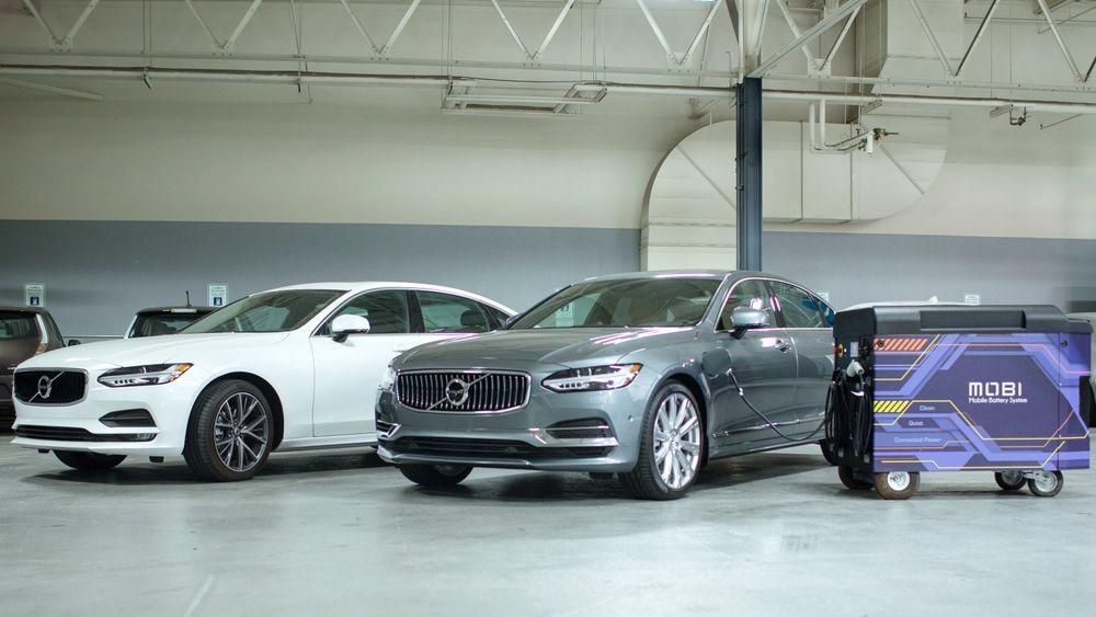 Volvo Cars Tech Fund investerer i Freewire, som lager ladeløsningen Mobi.