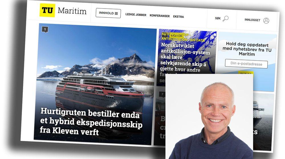 UKENS GJEST: Skipsekspert Tore Stensvold i Teknisk Ukeblad forteller om satsingen på TU Maritim.
