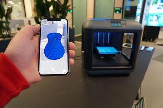 Hologrammene i Holopipe tar i bruk samme 3D-modeller som kan brukes av 3D-printere.