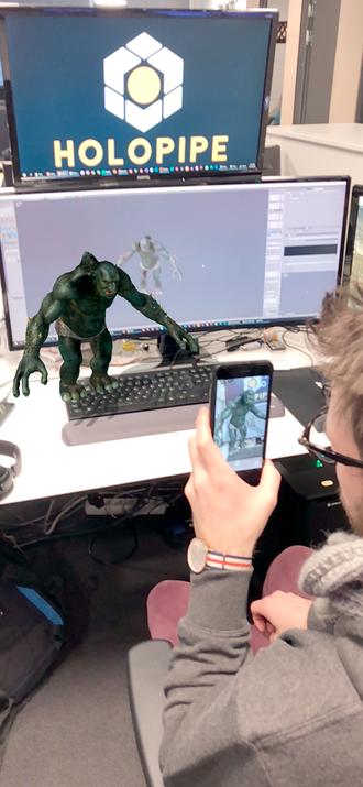 Holopipe kan også brukes i forbindelse med spilldesign.
