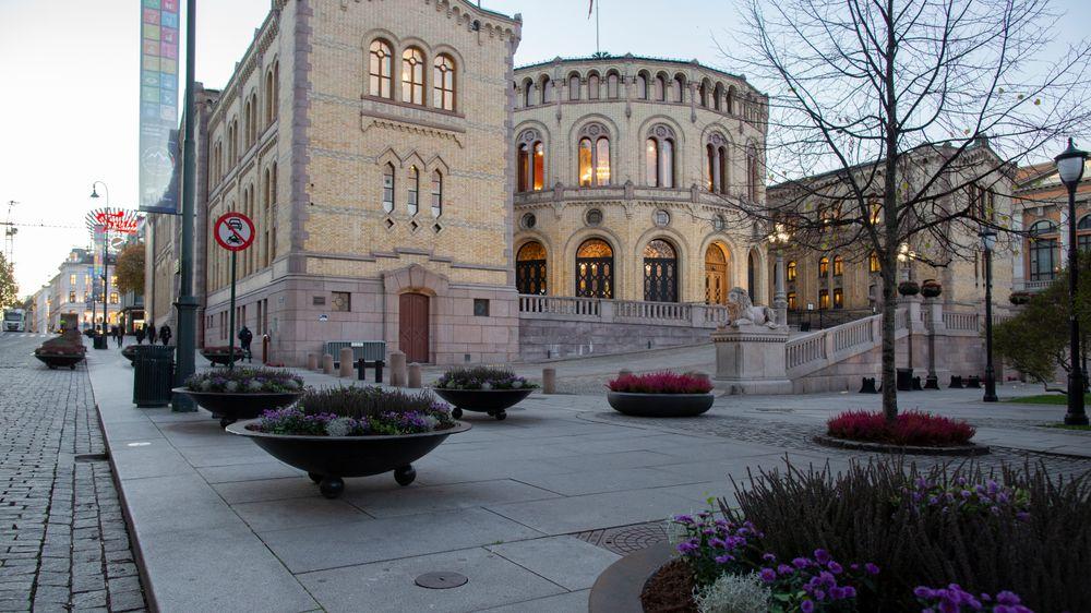 Justisminister Tor Mikkel Wara (Frp) måtte svare for seg under Kontroll- og konstitusjonskomiteens høring i rom WU-119 på Stortinget om Riksrevisjonens undersøkelse av oppfølging av objektsikring.