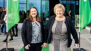Erna: – Norske bedrifter har en utfordring med bærekraft