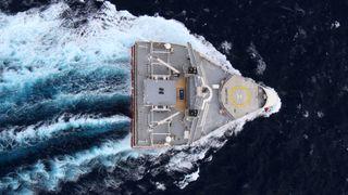 Seismikk-gigant utviklet metode for å samle inn havplast med luftbobler. Beregninger viser at man kan få mer fisk enn plast