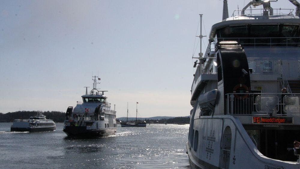 Alle de tre Nesodden-fergene skal få batterier og kunne seile helelektrisk mellom Aker Brygge og Nesodden.