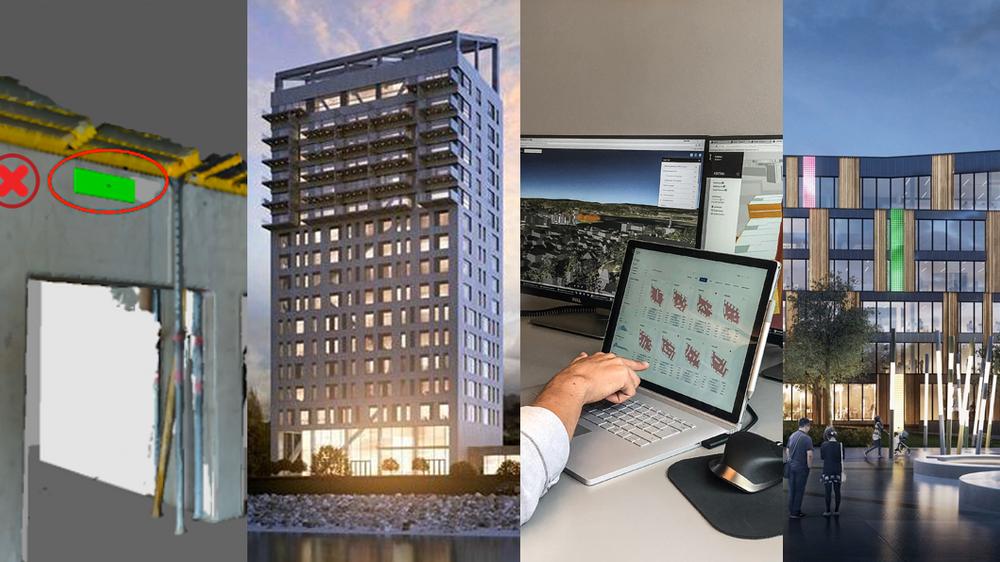 Den av disse som vinner Norwegian Tech Awards' første byggpris avsløres 28. november.