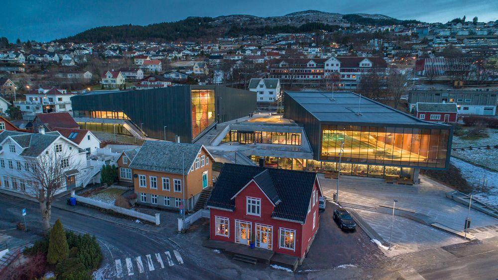 Byens nye storstue har ingen for- eller bakside, den er like fin fra alle kanter, mener arkitektkontoret Lund og Slaatto.
