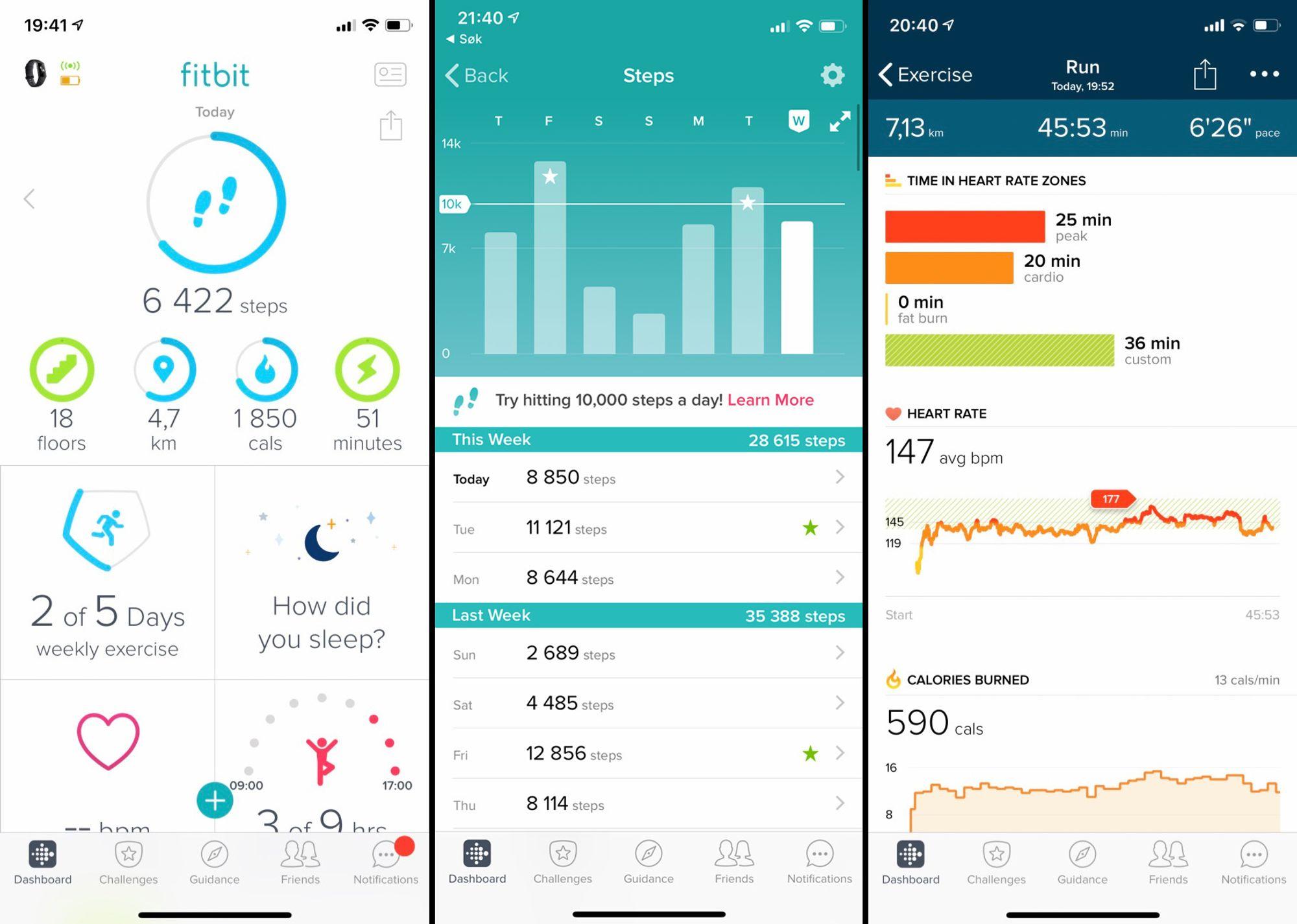 TEST: Fitbit Charge 3 Digi.no