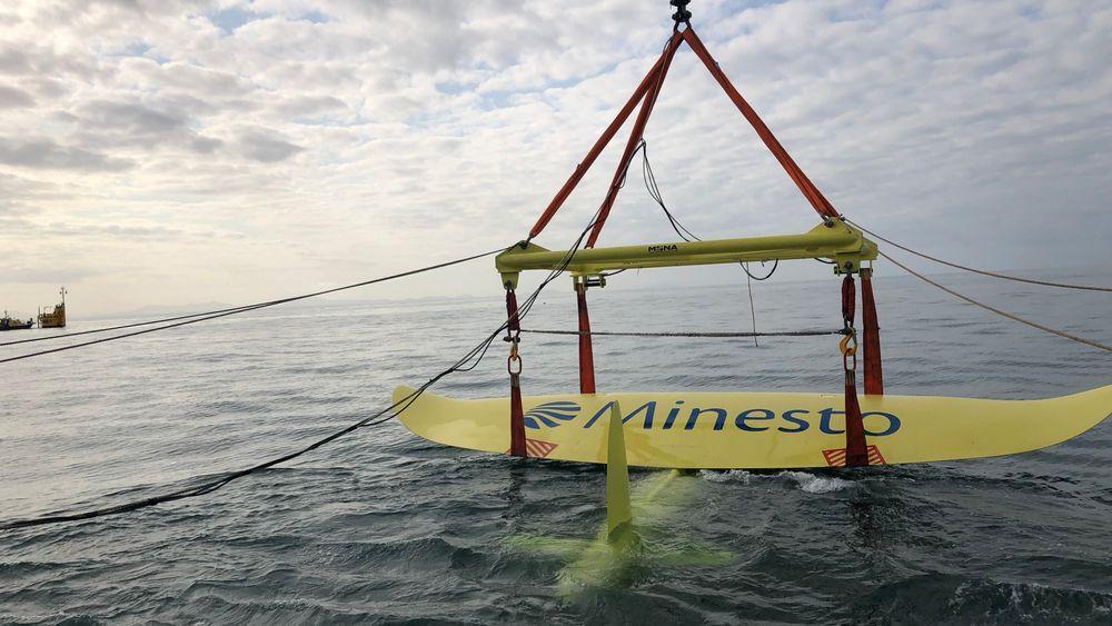 Det svenske energiselskapet Minesto melder at de for første gang har produsert energi i kommersiell skala ved hjelp av «undervannsdragen».