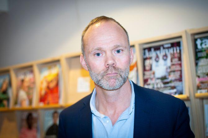 Direktør Trond Juliussen i Bonnier Media Norge.