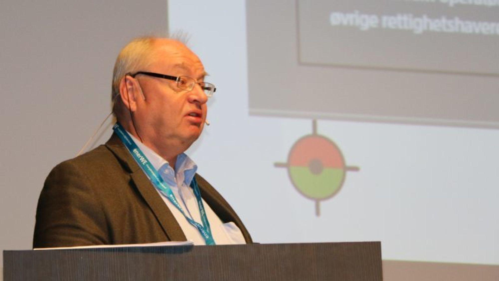 Sjefsingeniør Sigmund Andreassen i Petroleumstilsynet er ifølge juryen alltid åpen for å diskutere problemstillinger rundt arbeid i høyden.