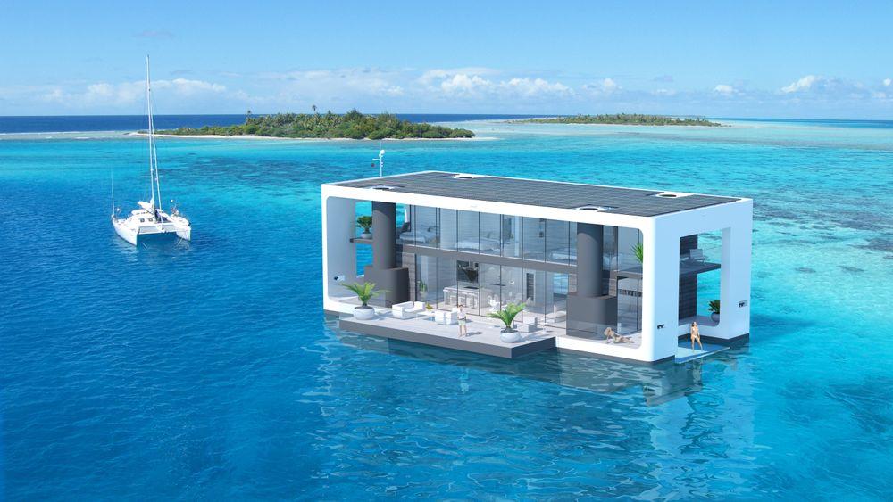 Plassmangel vil få flere til å bygge bolig på sjøen.