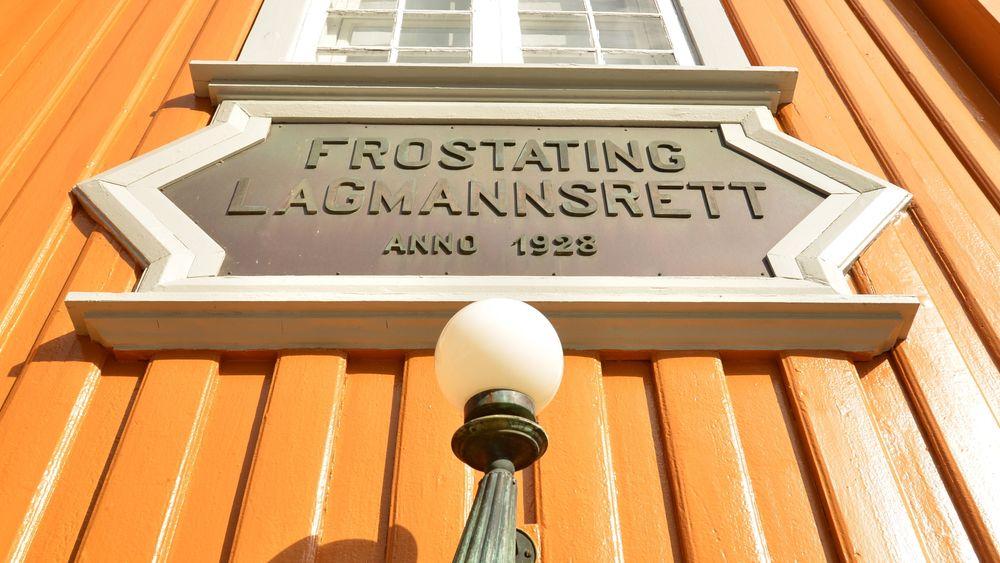 Far og sønn ble dømt i Frostating Lagmannsrett i Trondheim.
