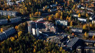 Statistisk sentralbyrå: Det bygges færre boliger