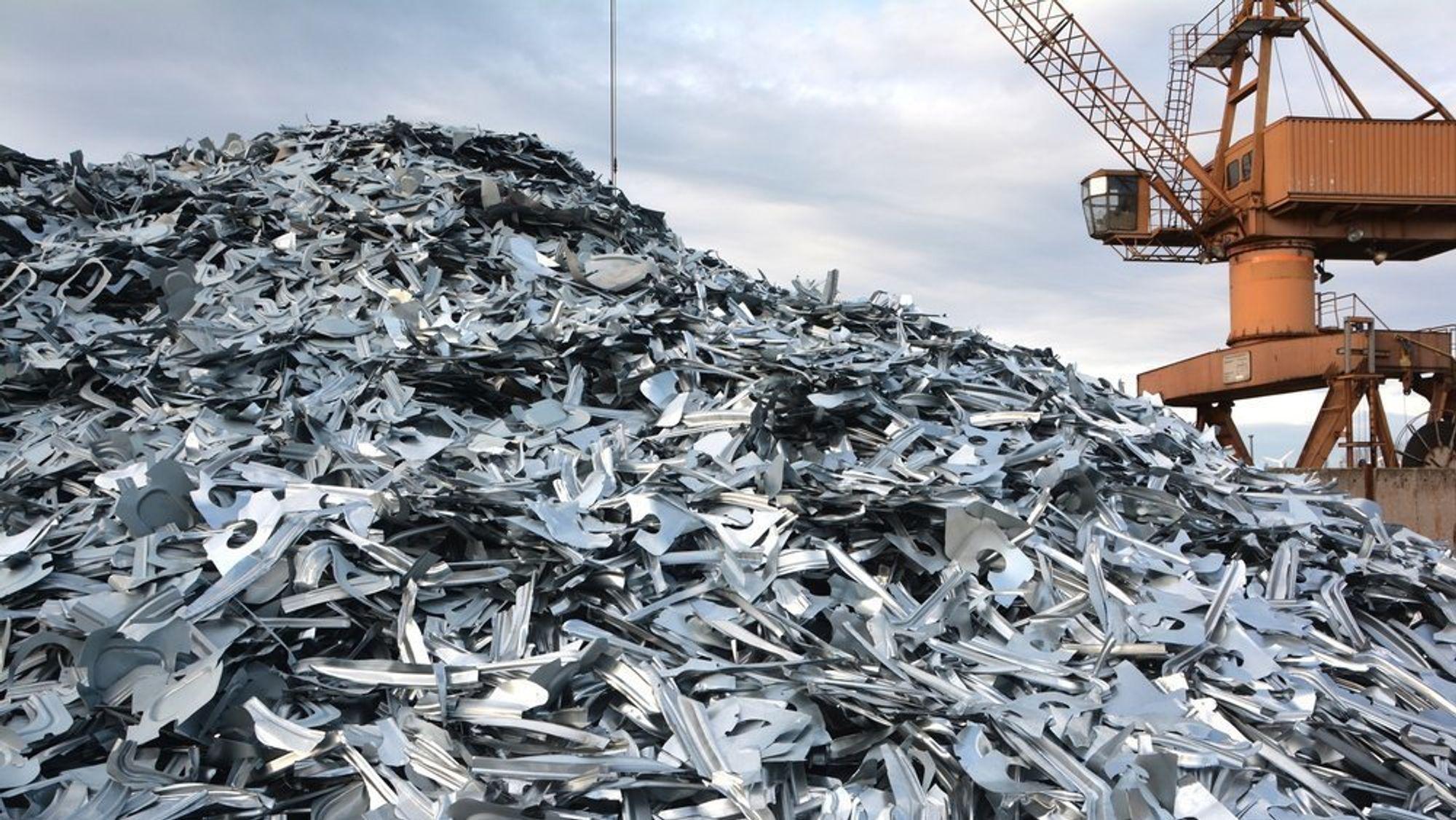 På noen områder er Norge gode på sirkulærøkonomi, skriver artikkelforfatteren. Hydro fokuserer sterkt på resirkulering av aluminiumsskrap, og ser de store muligheter for produkter basert på skrapmetall på kort og lang sikt.