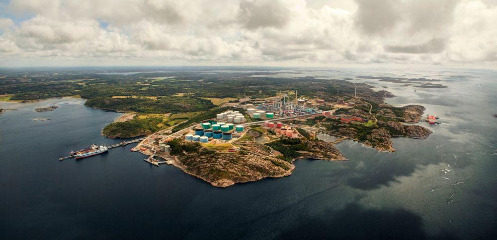 Et fangsanlegg ved raffineriet i Lysekil vil kunne fange 500.000 tonn CO2 i året, av et utslipp på 1,6 millioner tonn.